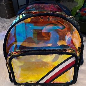 RARE Tommy Hilfiger Iridescent Backpack